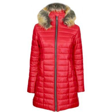 Kabát s kožešinou