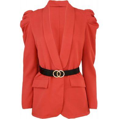 Dámské sako s nabíranými rukávy
