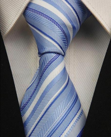 Hedvábná kravata modrá NT0023