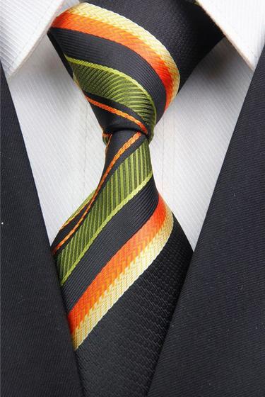 Hedvábná kravata vícebarevná NT0028