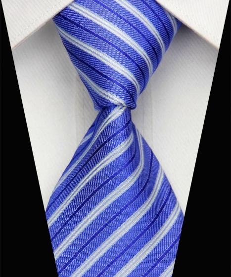 Hedvábná kravata modrá NT0509