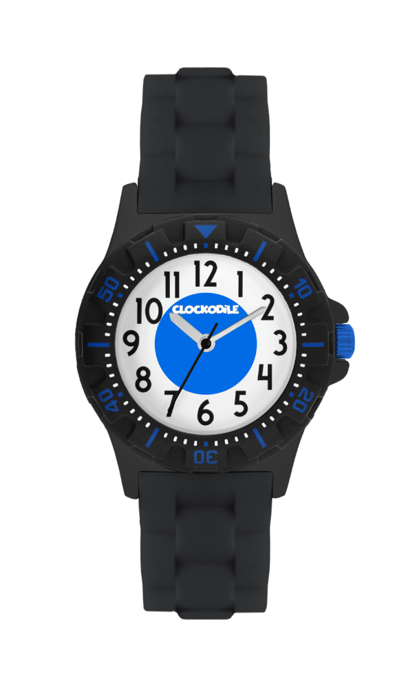 Svítící černé sportovní chlapecké hodinky CLOCKODILE SPORT 3.0 CWB0040
