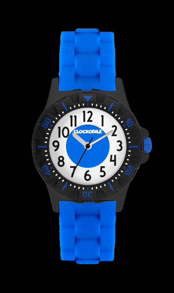 Svítící modré sportovní chlapecké hodinky CLOCKODILE SPORT 3.0 CWB0041