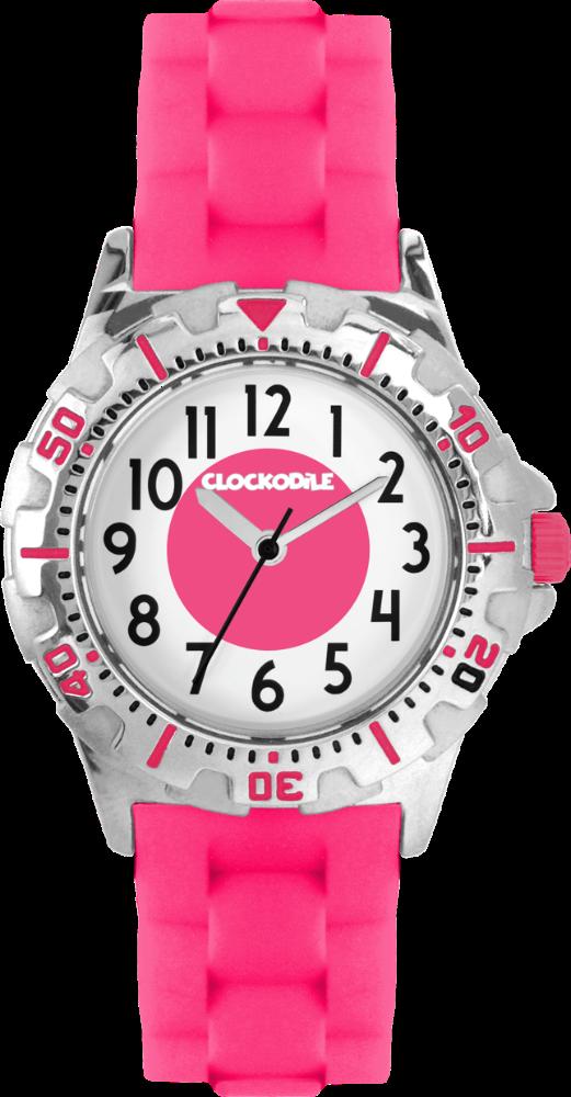 Svítící růžové sportovní dívčí hodinky CLOCKODILE SPORT 3.0 CWG0040