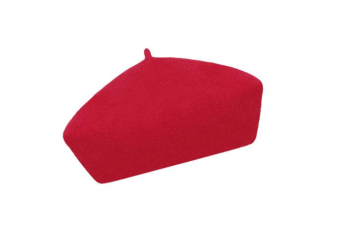 Dámský vlněný baret Alice Red