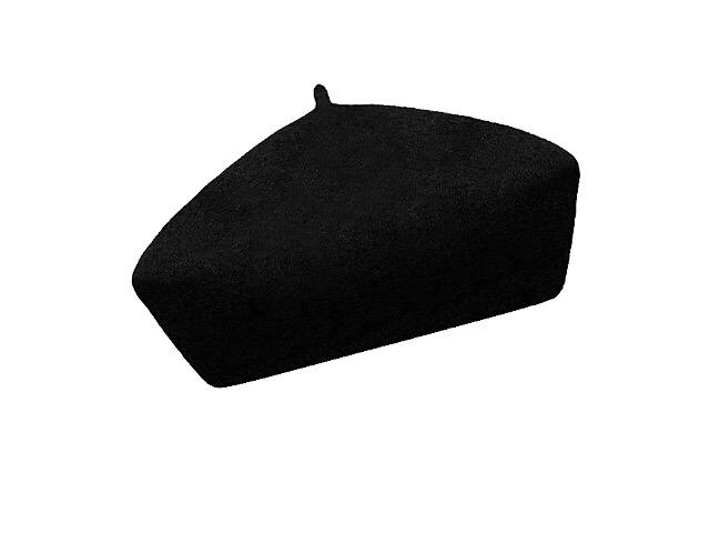 Dámský vlněný baret Alice Black