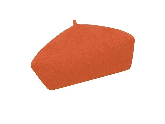 Dámský vlněný baret Alice Orange