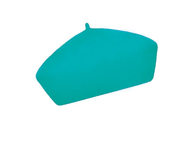 Dámský vlněný baret Alice  Turquoise