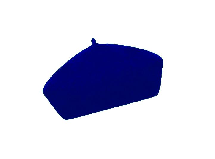 Dámský vlněný baret Alice Dark Blue