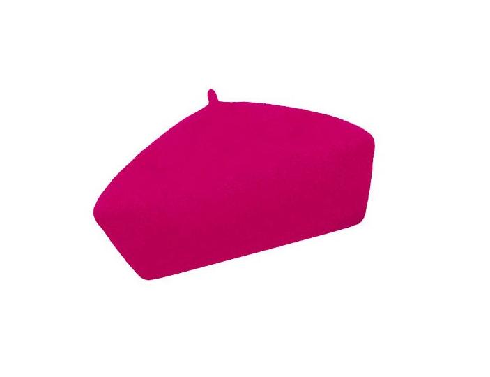 Dámský vlněný baret Alice Pink