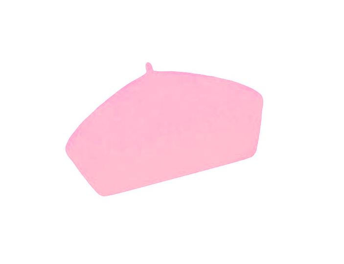 Dámský vlněný baret Alice Light Pink