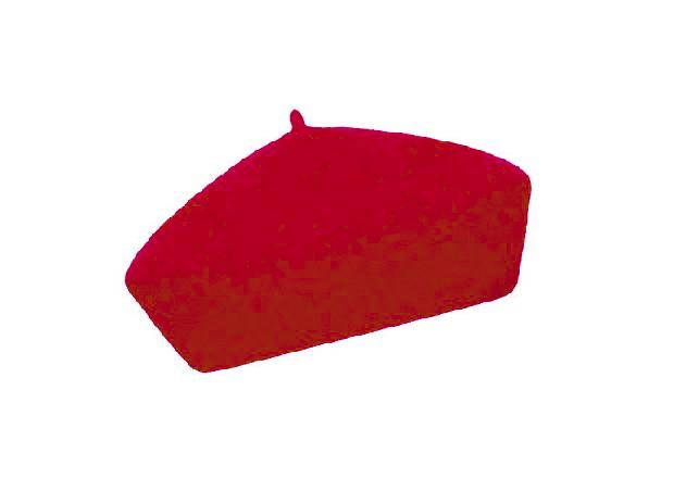 Dámský vlněný baret Alice Dark Red