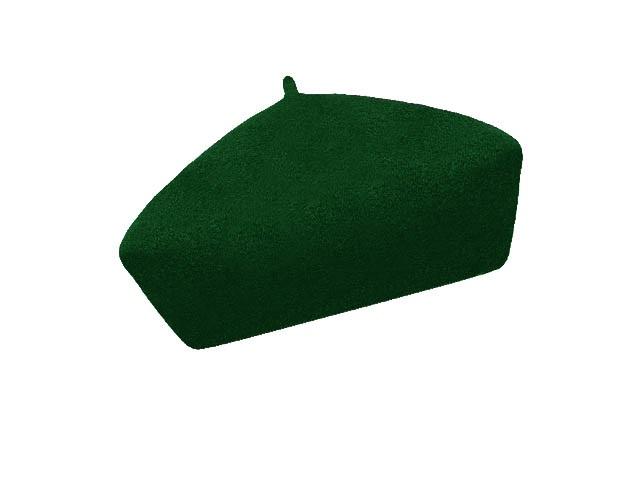 Dámský vlněný baret Alice Dark Green