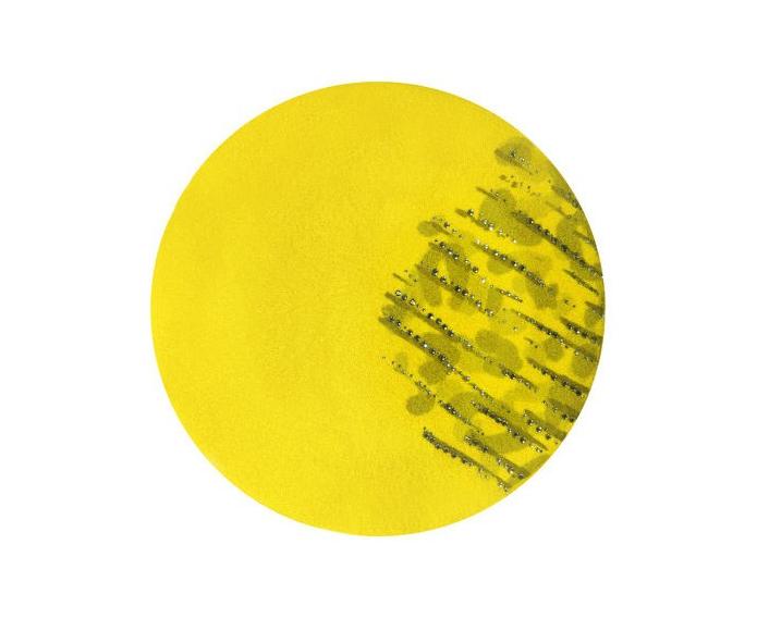 Dámský vlněný baret Adelaide Yellow