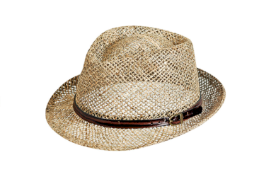 Unisex letní slaměný klobouk Eduard