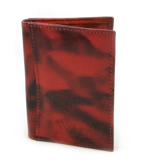 Pouzdro na karty červené