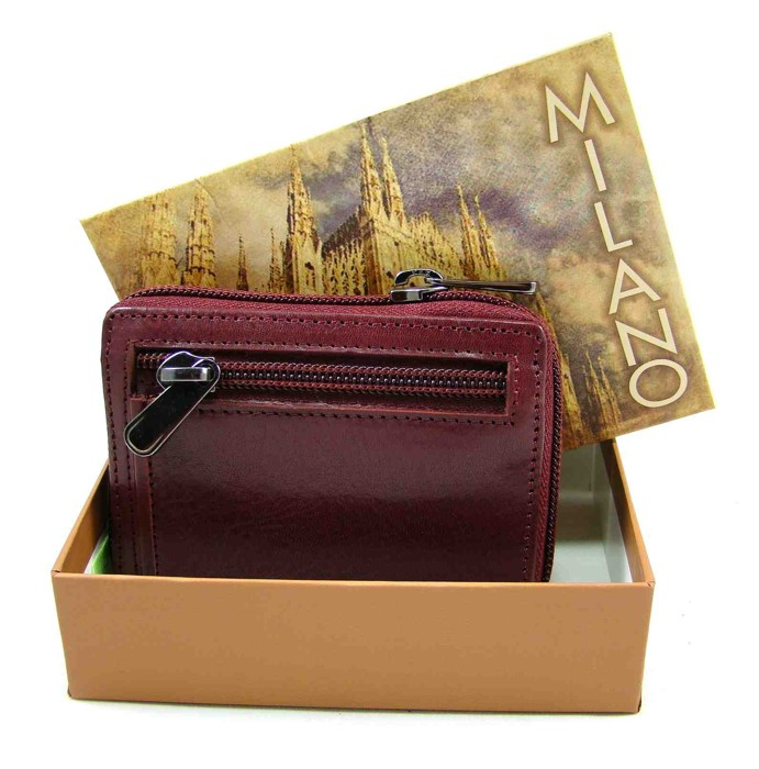 Luxusní kožené velké pouzdro na karty