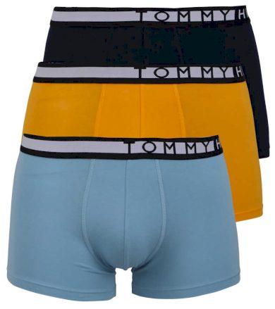 3Pack pánské boxerky Tommy Hilfiger Navy/Yellow/Water