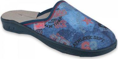 Chlapecké pantofle BEFADO 707Y415 s potiskem, modré