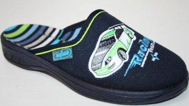 Chlapecké pantofle BEFADO 707X315 motiv závodní auto