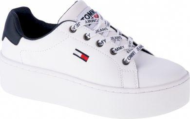 Dámská Sneaker obuv Tommy Hilfiger Iconic Leather Flatform EN0EN01113-YBR