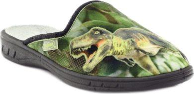 Chlapecké pantofle BEFADO 707Y385 motiv tyrannosaurus