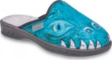Chlapecké pantofle Befado 707Y382 motiv krokodýl hlava