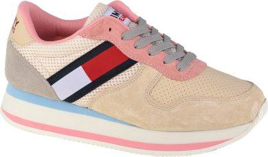 Dámská Sneaker obuv Tommy Hilfiger Jeans Wm Flatform Runner EN0EN01357-AA8