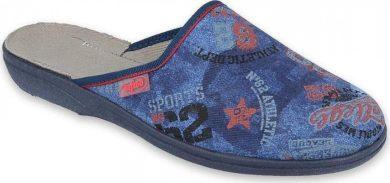 Chlapecké pantofle BEFADO 201Q093 s potiskem, modré