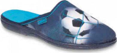 Chlapecké pantofle BEFADO 201Q090 motiv fotbaloví míč