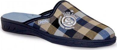 Chlapecké pantofle BEFADO 201Q083 kostkované