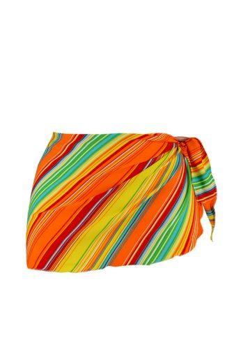 Aqua H - šátek oranžová
