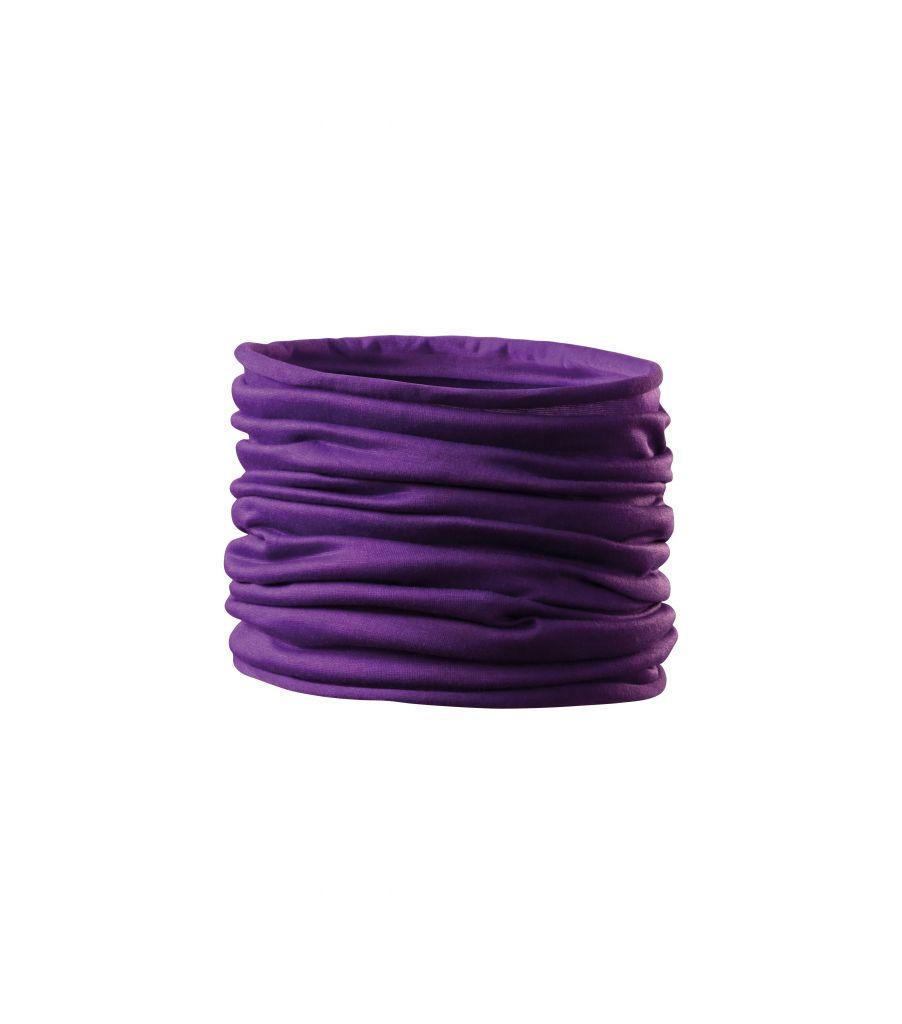 Šátek Adler Headgerar Twister - fialový