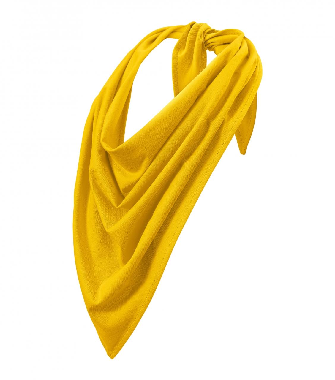 Šátek Adler Fancy - žlutý