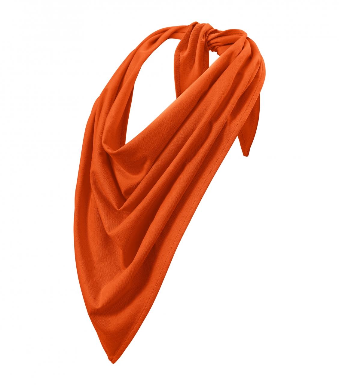Šátek Adler Fancy - oranžový