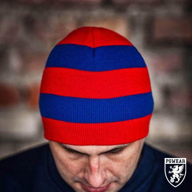 Čepice zimní PGwear Winter 20 - červená-modrá