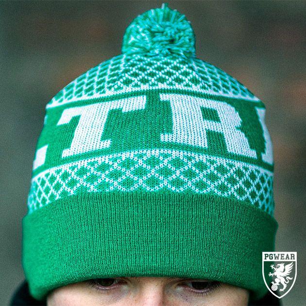 Čepice zimní PGwear Ultras GW - zelená-bílá