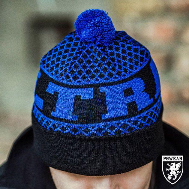 Čepice zimní PGwear Ultras BS - černá-modrá