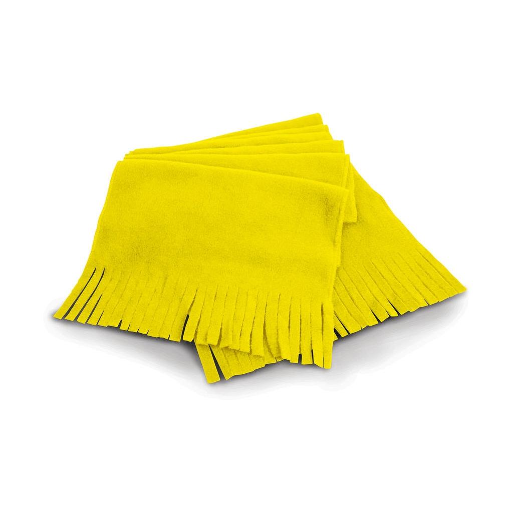 Fleecová šála Result Active Fleece - žlutá