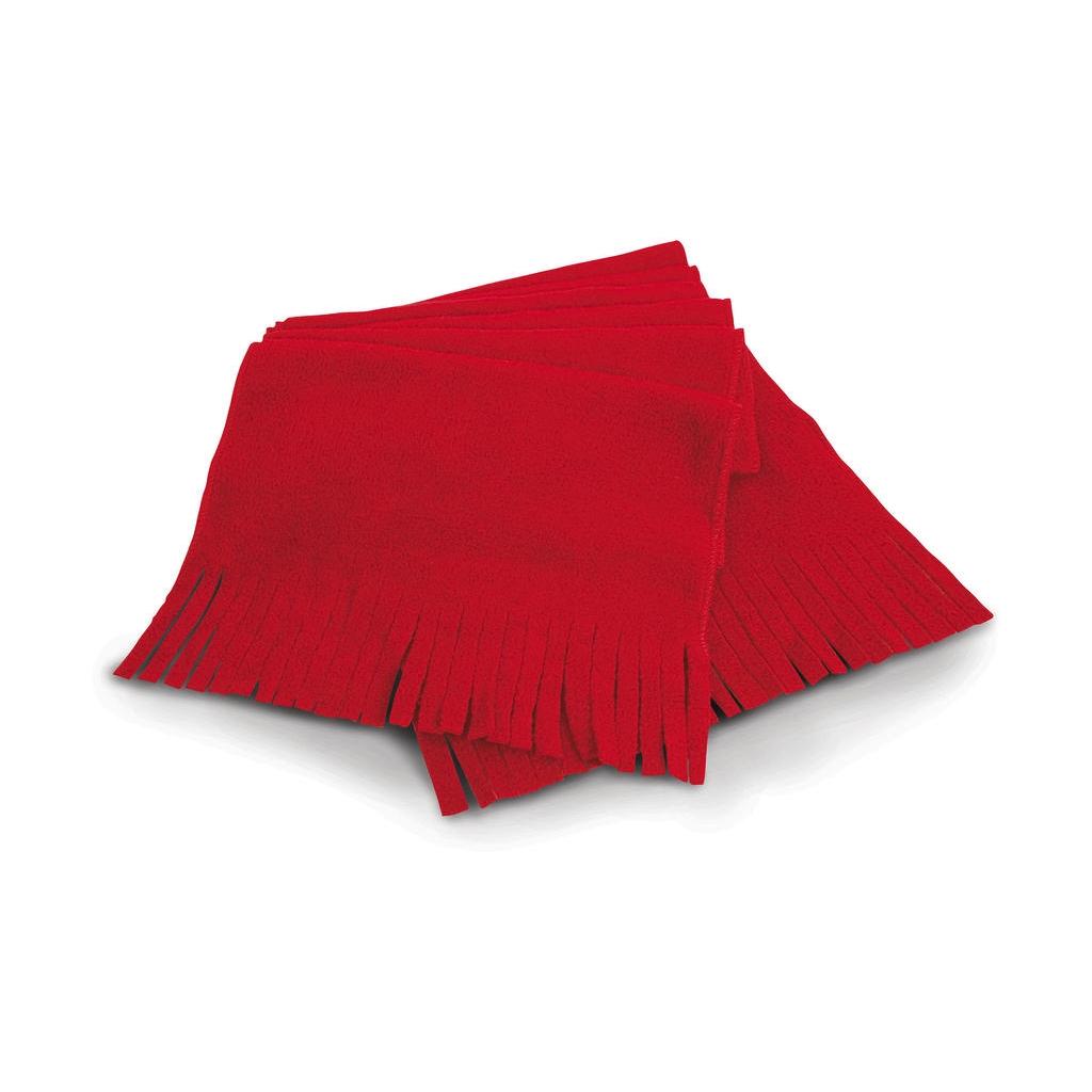 Fleecová šála Result Active Fleece - červená
