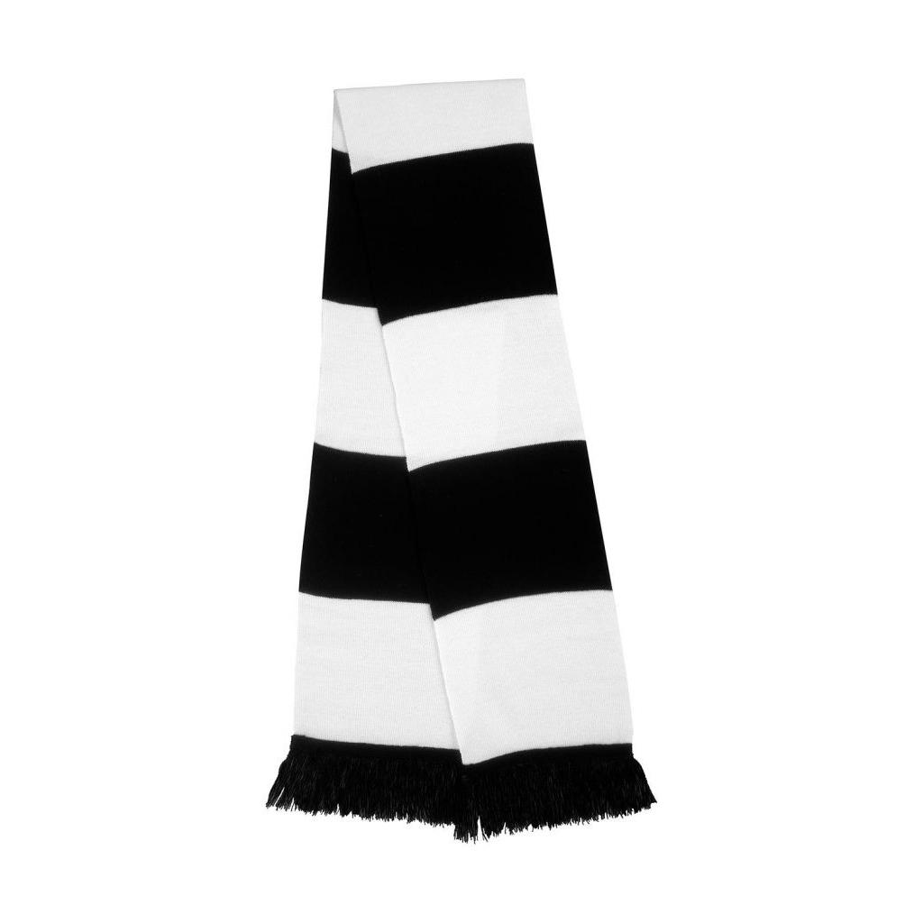 Šála Result Sport - černá-bílá