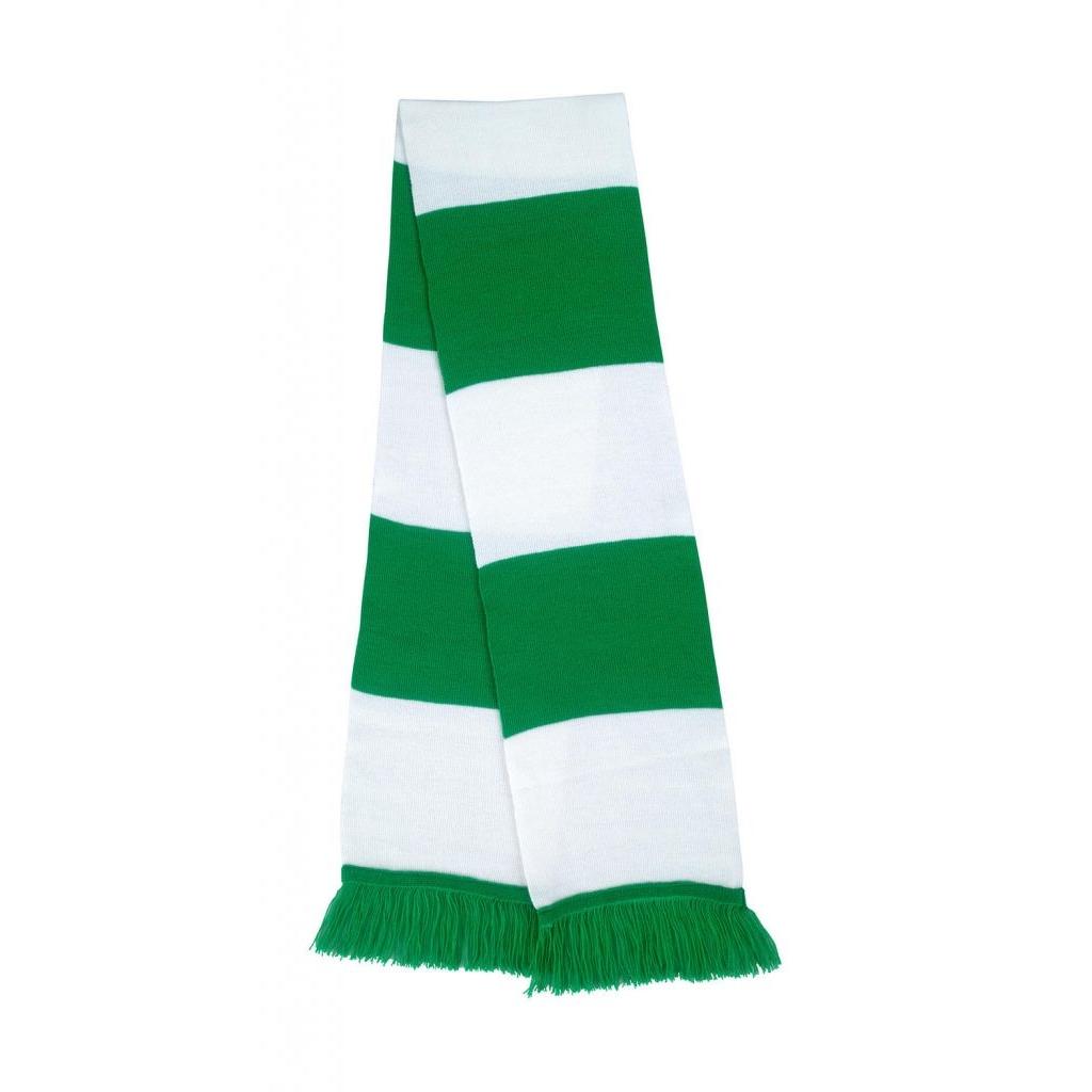 Šála Result Sport - zelená-bílá