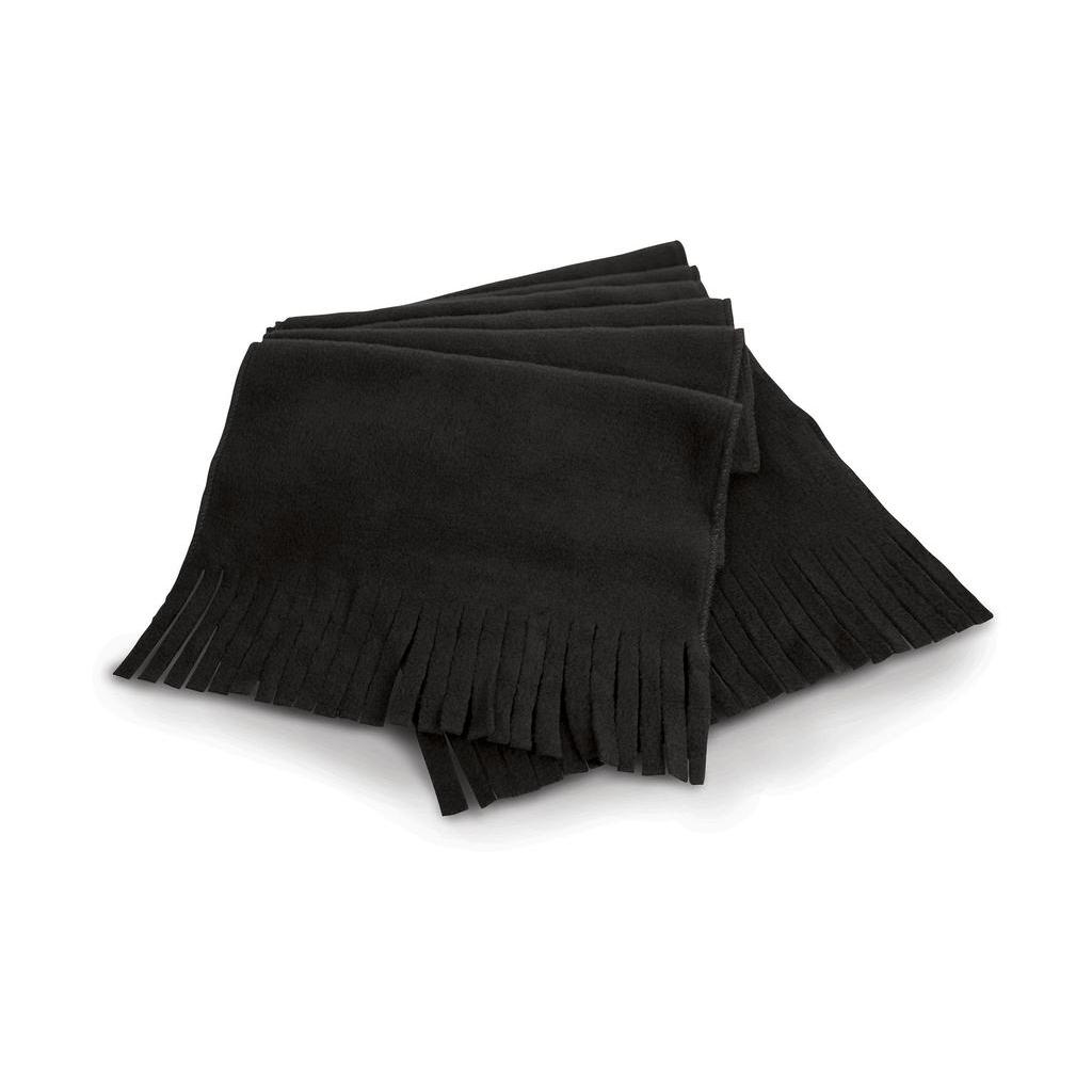 Fleecová šála Result Active Fleece - černá