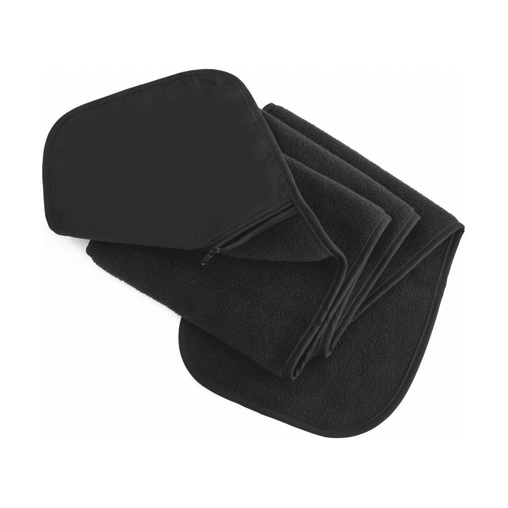 Fleecová šála s kapsou Result - šedá