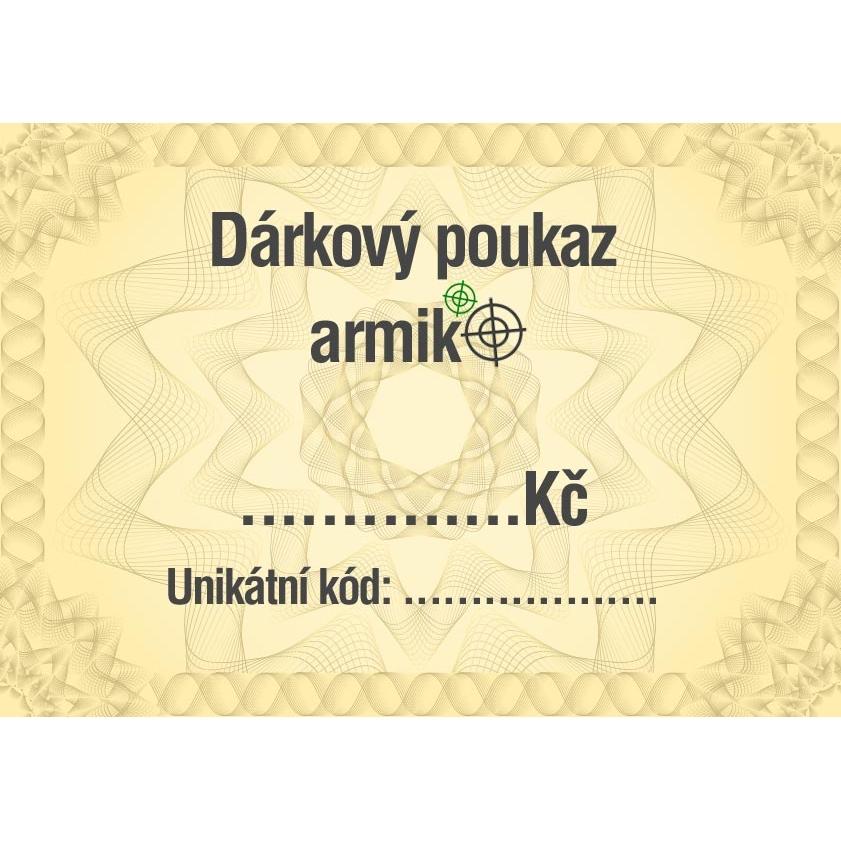Dárkový poukaz Armik.cz, 1250