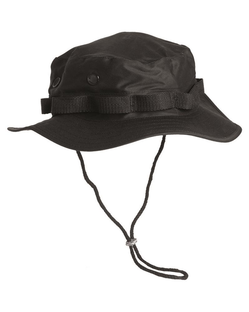 Klobouk Mil-Tec US Jungle - černý, L