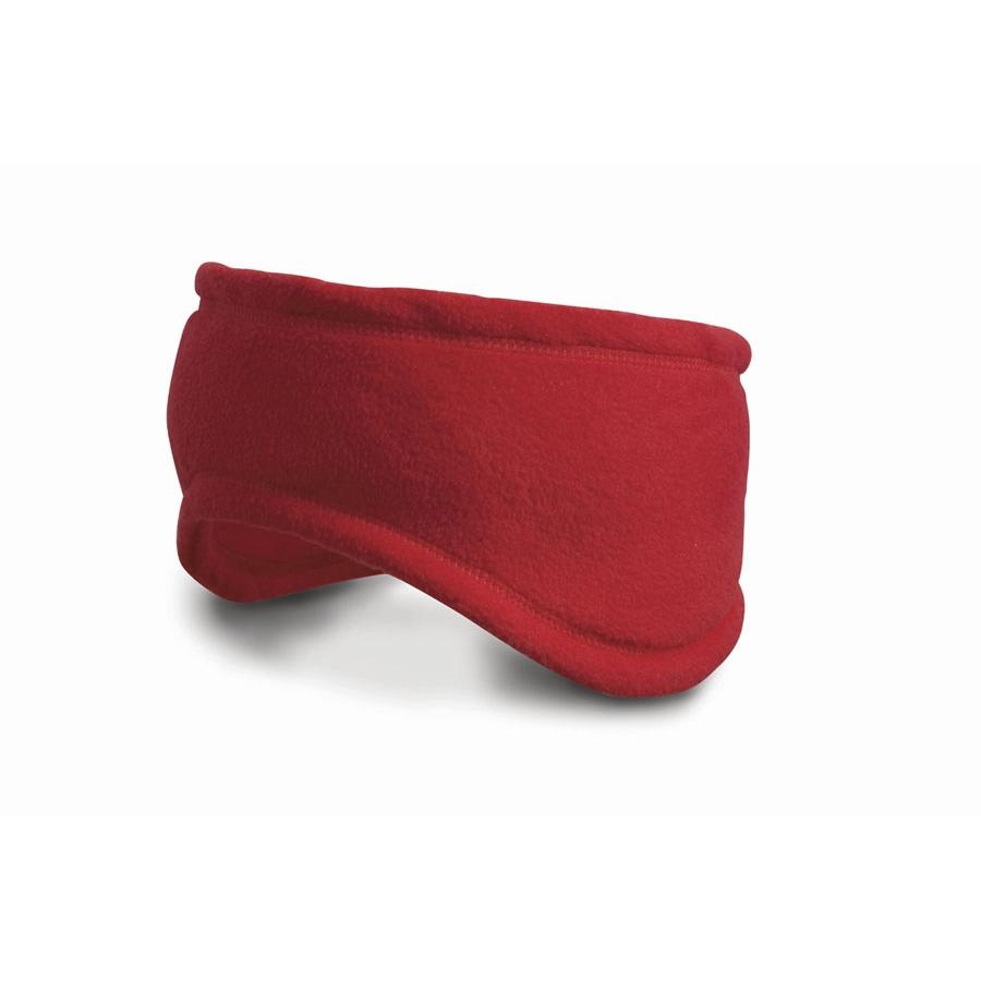 Čelenka Result Active Fleece - červená, M