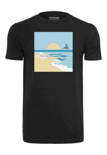 Triko Pink Dolphin Horizon - černé, S