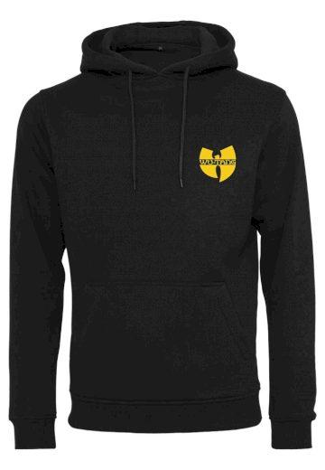 Mikina s kapucí Wu-Wear Chest Logo - černá, 3XL
