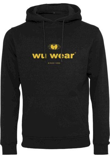 Mikina s kapucí Wu-Wear Since 1995 - černá, XXL